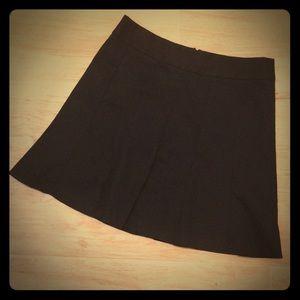 Banana Republic Pleated black skirt.